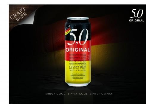 5,0 craft beer